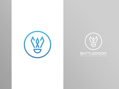 Battledoor Badminton Logo 2