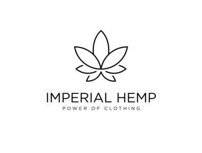 Imperial Hemp Logo logo adobe photoshop adobe illustrator design hemp logo clothing hemp imperial