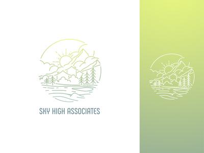 Sky High Associates Logo