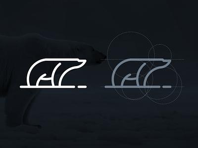 POLAR grid polar rendycemix illustration combination inspiration graphicdesigns vector logodesign forsale branding brand design logo