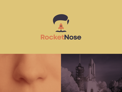 rocket nose modern brand identity identity graphicdesign graphic clear simple logo icon nose rocket brand design rendycemix combination vector logodesign forsale branding brand design logo