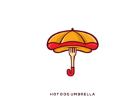 Hot dog umbrella