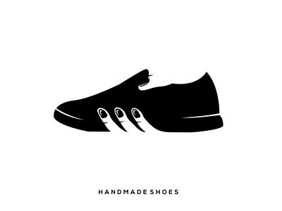 Handshoes hand shoes logo inspiration
