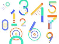 Google IO 2018 number styles