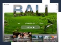 Trip Planner Web Design