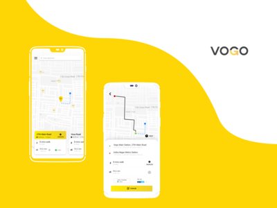 Recreated - Vogo Mobile App