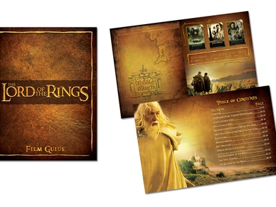 Lord of the Rings Film Guide