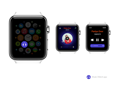Music iWatch App 800x600