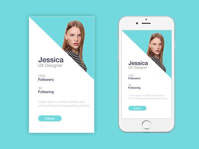 Profile Ui Screen
