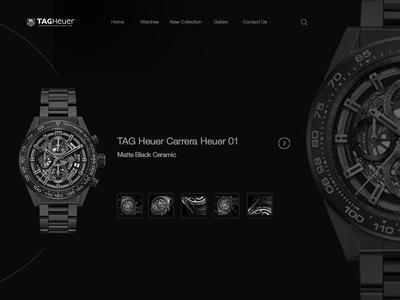 Design Tag Heuer Carrera Heue Practise 1 New