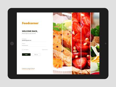 200520190639 Foodcorner Login Page