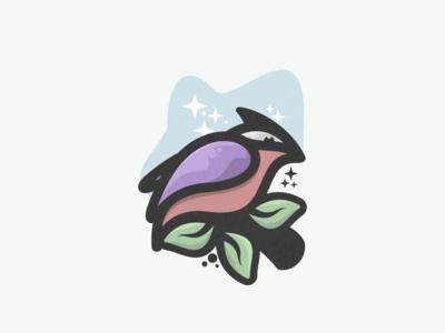 bird logo explore