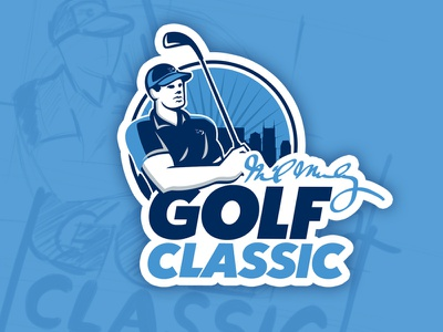 Golf Classic Logo sketches nashville design logo golf