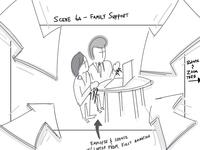Storyboard Sketch - WIP