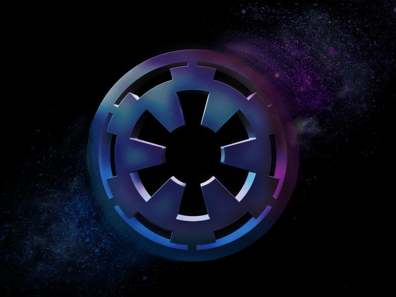 Star Wars Imperial 3d Logo Wallpaper 3d art photoshop star wars