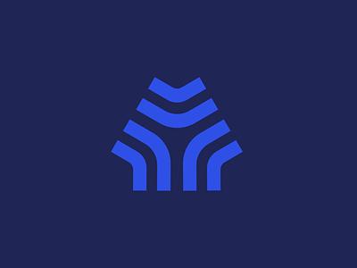 Y water circuit logo design pipes logotype logo