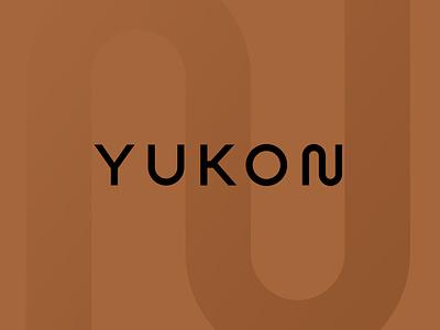 Yukon identity wordmark logotype branding curve wave logomark logo