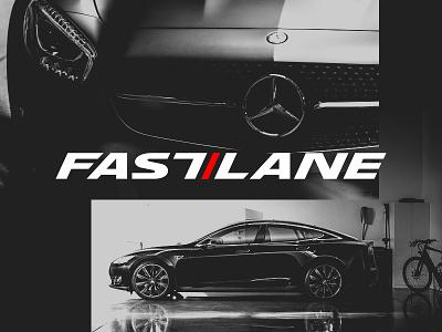 Fastlane Leftovers cars fast design branding logotype logo