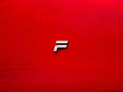 FFFast fast identity auto cars branding f logo