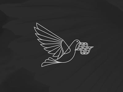Dove + Film birds branding film dove bird logo
