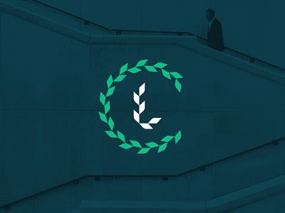 LC Monogram typography branding logo identity design