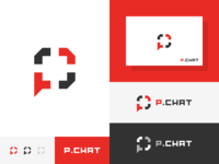 Power Chat web online communication chat games power esports professional game modern brand design branding brand identity icon flat concept vector logo concept design dribbble