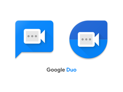 Google Duo Icon Concept