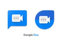 Google Duo Icon Concept
