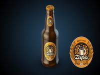Zupa Beer Mat