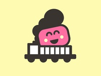Marshmallow icon train