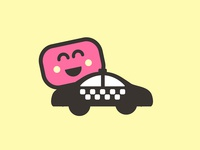 Marshmallow icon taxi