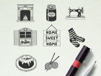 Home Sweet Home Illustrations