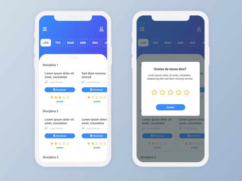 App design app ux ui portfolio