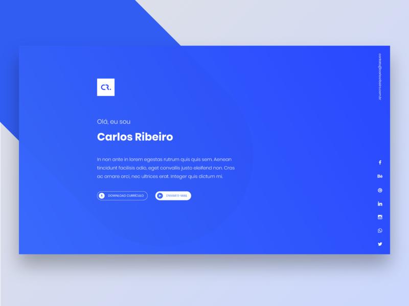 New Site portfolio ui logo design