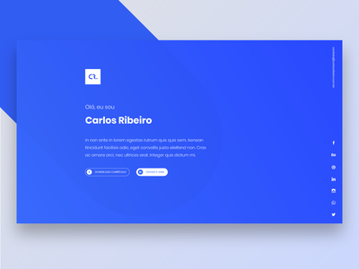New Site portfolio ui logo design