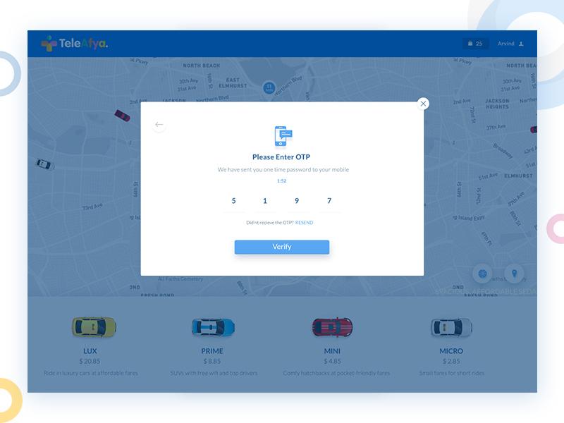 OTP Screens website design clean ui simple designs ui designer mumbai otp design login screens otp