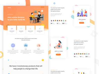 Banking and Finance Landing Page