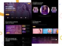 Miss Malina Beauty Contest Website