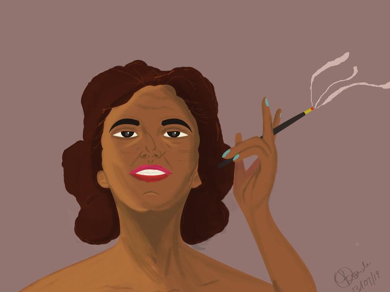 cigar design illustration