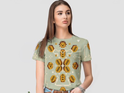 Fried plantain with cream TSHIRT