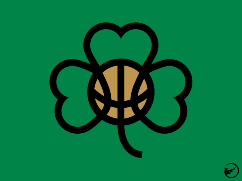 boston celtics alternate logo concept by jai black