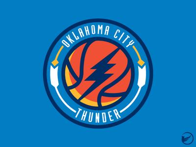 Oklahoma City Thunder Primary Logo Concept