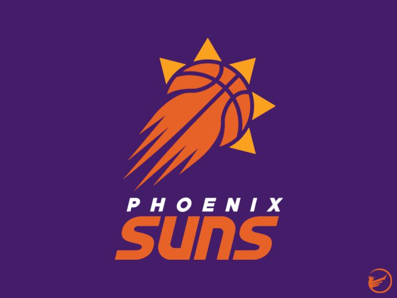 Phoenix Suns Primary Logo Concept sports design phoenix suns nba