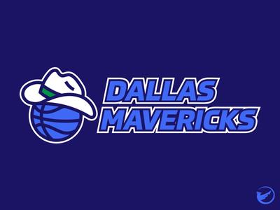 Dallas Mavericks Primary Logo Concept