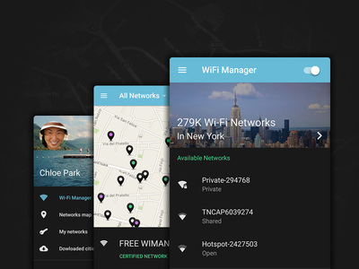 Wifi Manager Designs Themes Templates And Downloadable Graphic Elements On Dribbble