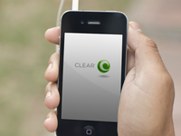 CLEAR app startup screen