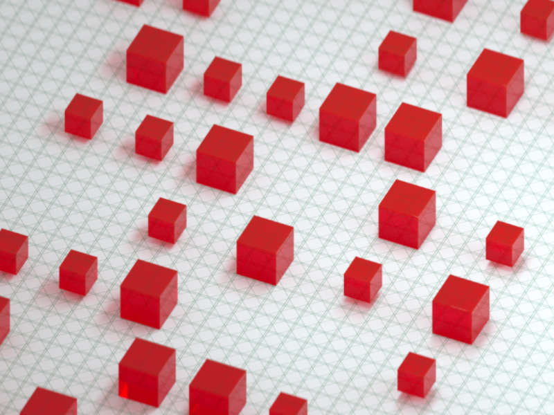 Red Box red box c4d render 3d