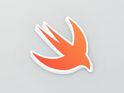 Swift Sticker freebie sticker mule dev apple sticker swift