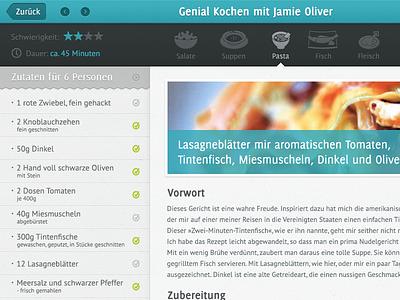 Jamie Oliver cooking app cooking ipad app jamie oliver