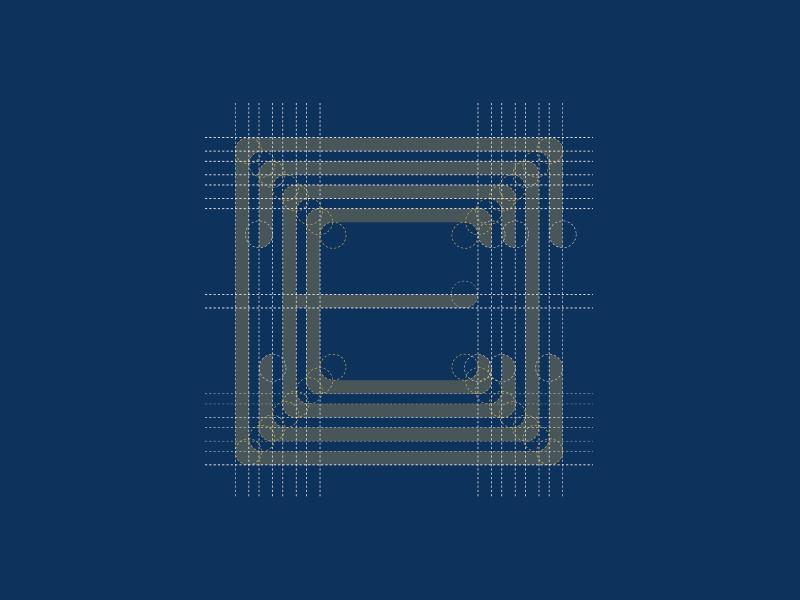 EEDC MONOGRAM identity wip branding monogram isotype logotype